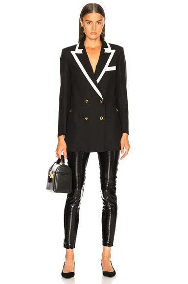 Essez Piping Everyday Double Breasted Blazer