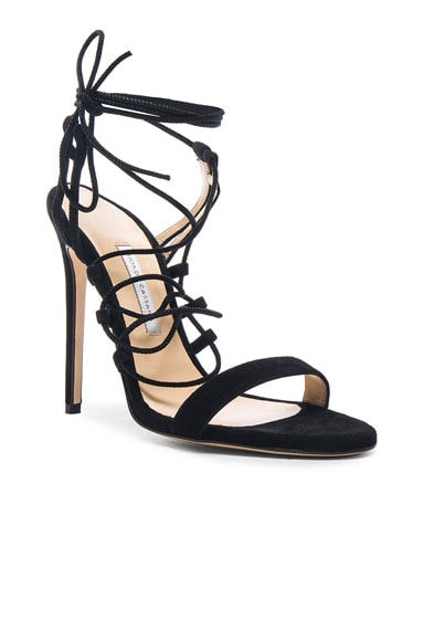 Viola Suede Heels