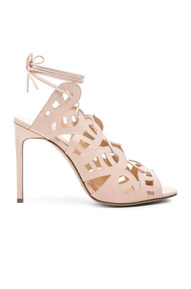 Bionda Castana Hazel Leather Heels in Blush