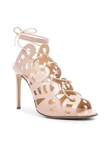 Hazel Leather Heels