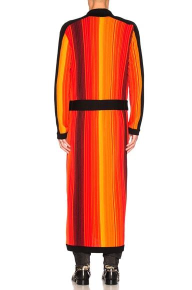 Striped Robe Sweater