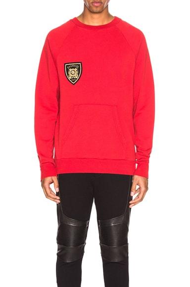 Raglan Sweatshirt with Zips