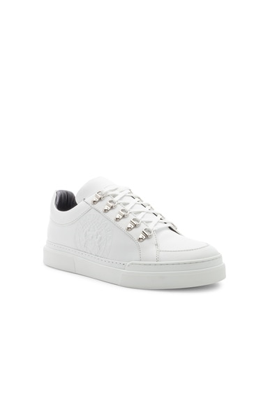 Leather Coral Low Sneakers