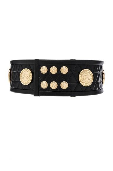 Leather Rivet Belt