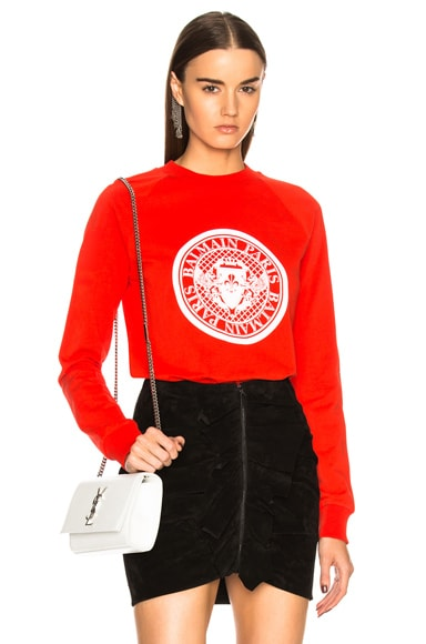 Coin Crewneck Sweatshirt