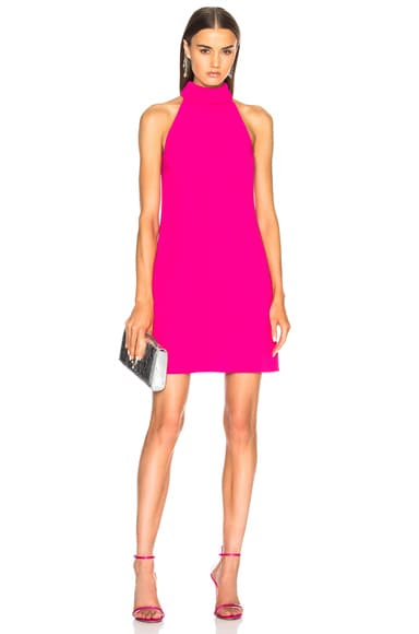 Shift Dress with Bow Back