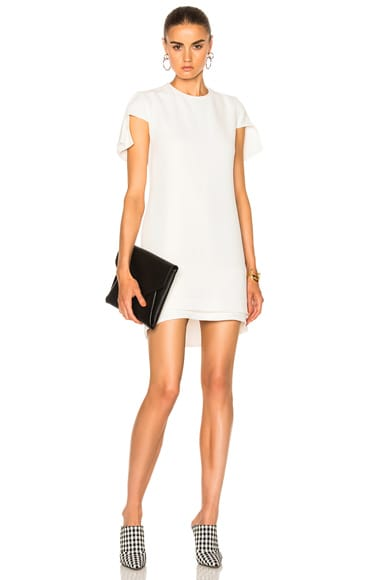 Suiting Cap Sleeve Mini Dress