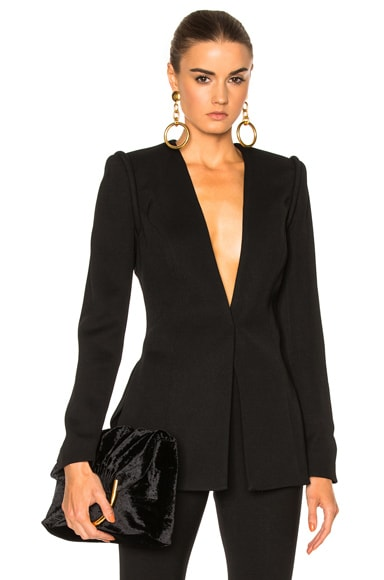 Shoulder Piping Blazer