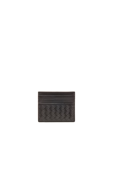 Bottega Veneta Card Case in Black