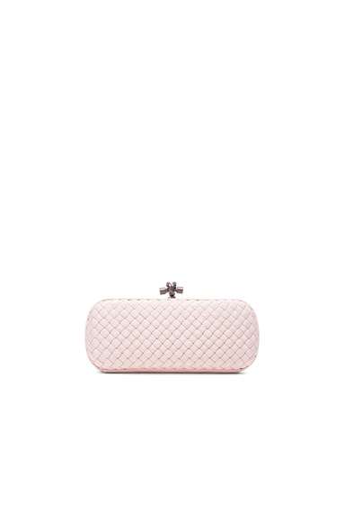 Bottega Veneta Long Knot Clutch in Petale