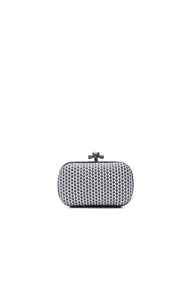 Bottega Veneta Cravatteria Knot Clutch in Mist