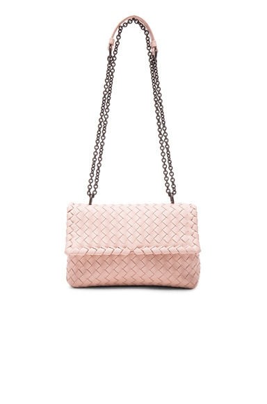 Bottega Veneta Baby Olimpia Chain Bag in Petale