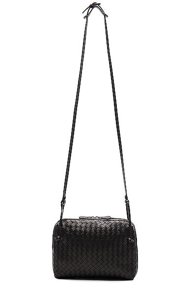 Woven Leather Shoulder Bag