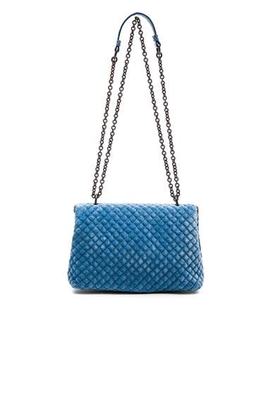 Velvet Foldover Bag