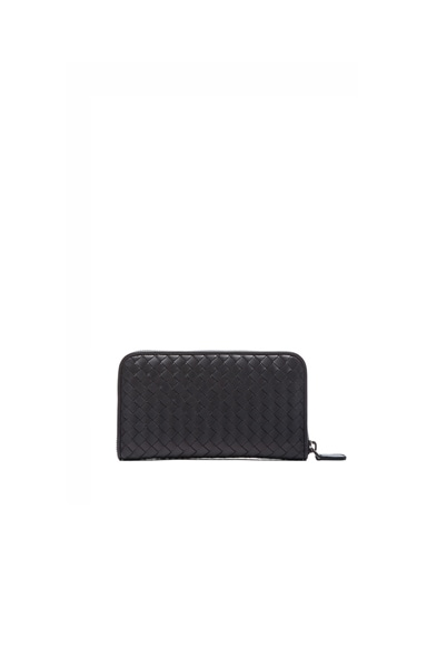 Bottega Veneta Intrecciato Nappa Wallet in Tourmaline