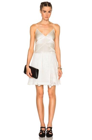 Burberry Prorsum Cami Dress in White