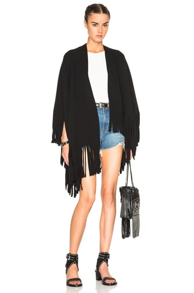 Felted Knitted Poncho