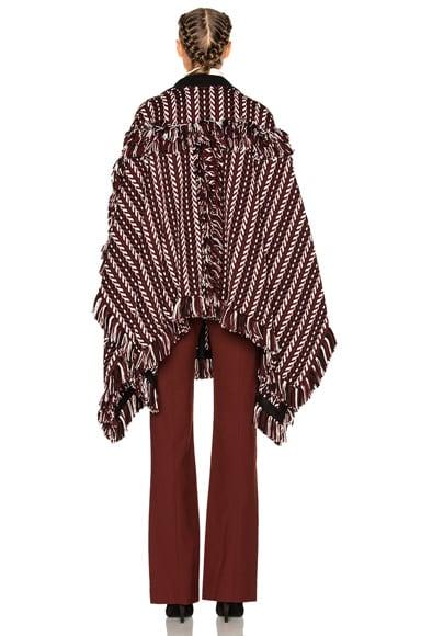 Knit Blanket Cape