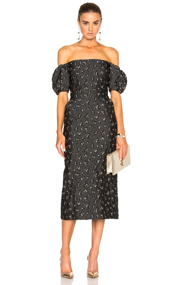 Brock Collection Ditsy Dress in Dark Floral
