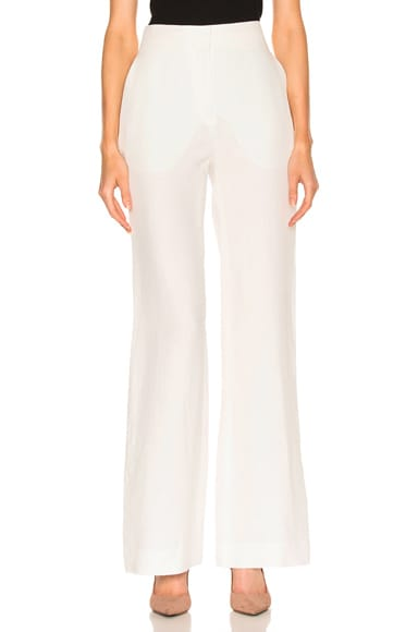 Brock Collection Pamela Pant in Natural White