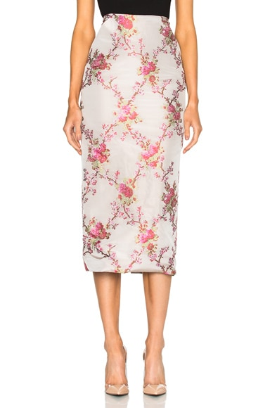 Brock Collection Snow Skirt in Cherry Blossom