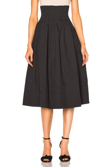 Brock Collection Sandra Skirt in Black
