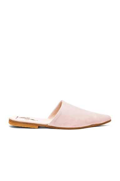 Suede Sister Mules Brother Vellies