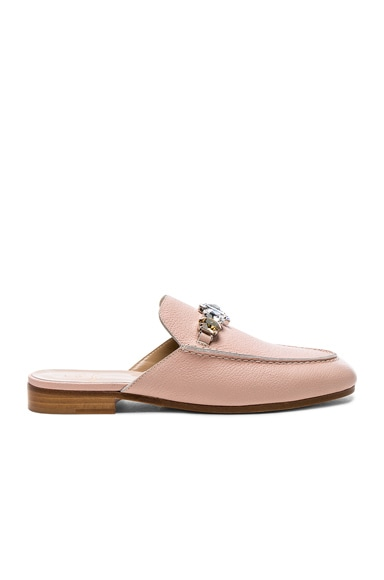 Leather Loafer Slides Brother Vellies
