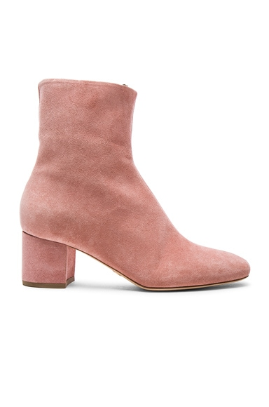 Brother Vellies Kaya Boot in Flamingo Suede