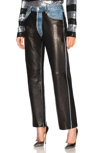 Leather Chapsy Pant