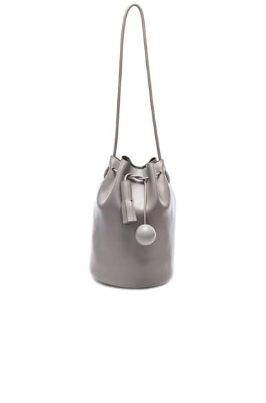 Building Block Bucket Bag in Concrete