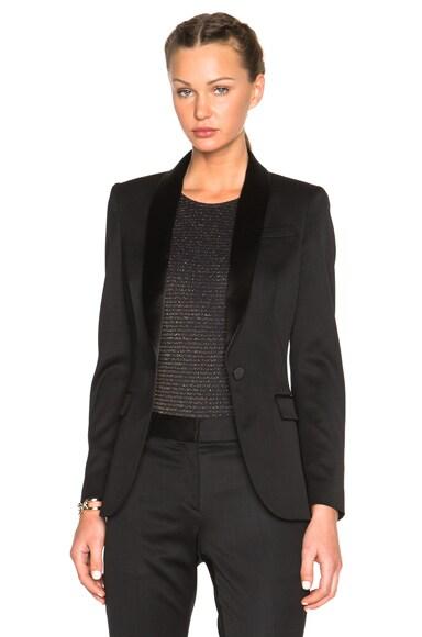 Burberry London Claremont Tuxedo Jacket in Black