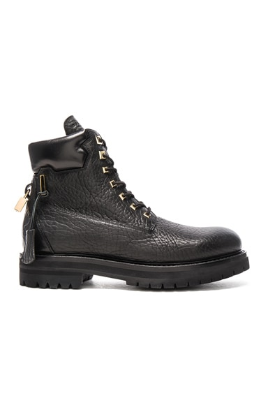 Leather Site Boots