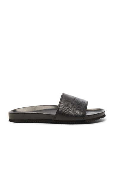 Leather Classic Slide Sandals
