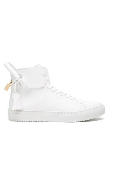 125 MM High Top Sneaker