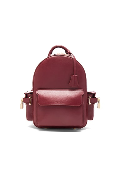 Buscemi Mini PHD Backpack in Bordeaux