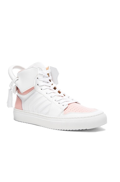 110MM Leather Sneakers