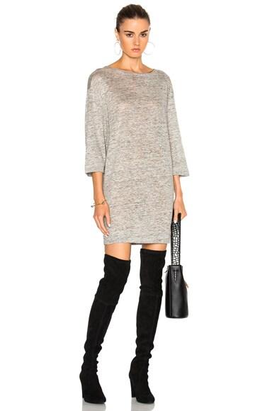 By Malene Birger Florianna Tee Dress in Grey Melange