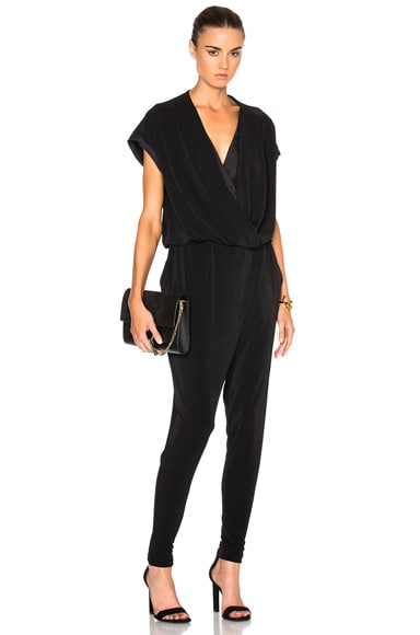 By Malene Birger Alendria Jumpsuit in Black