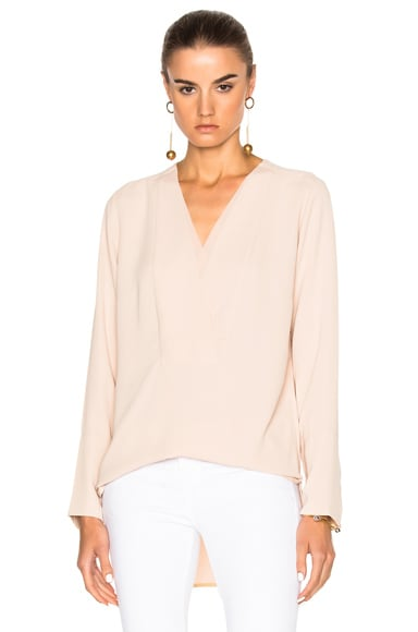 By Malene Birger Triply Top in Champagne