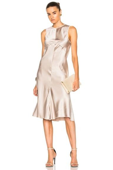 Lamica Silk Satin Gown