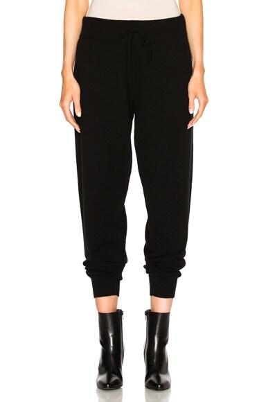 Calvin Klein Collection Valerio Cashmere Sweatpants in Black