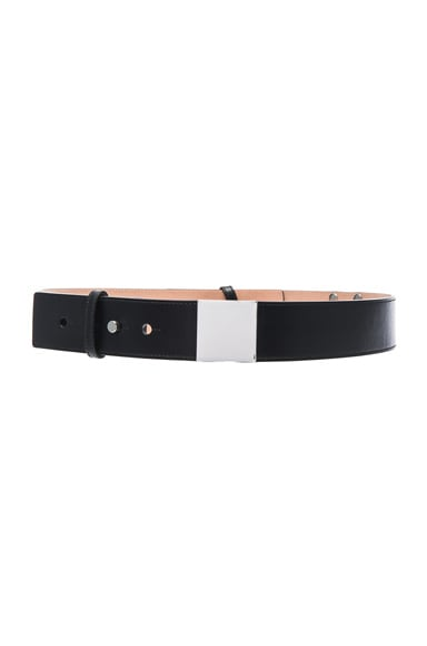 Carven Belt in Noir