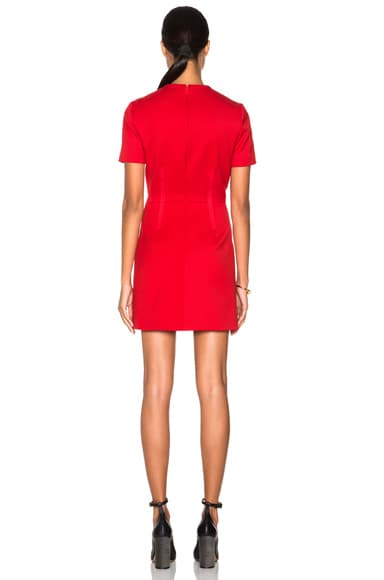 Slit Mini Dress
