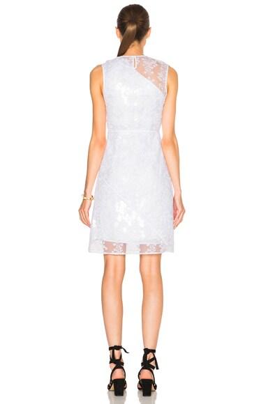 Asymmetrical Organza Dress