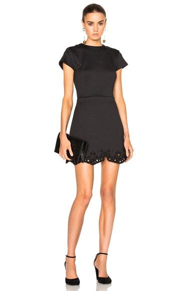 Carven Mini Dress in Noir