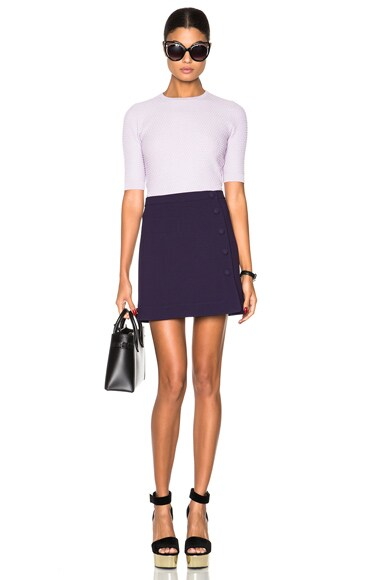 Short Sleeve Pullover Sweater