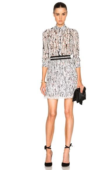 Printed Georgette Skirt