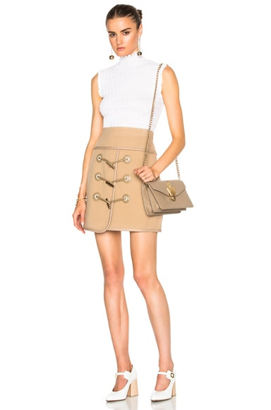 Toggle Mini Skirt
