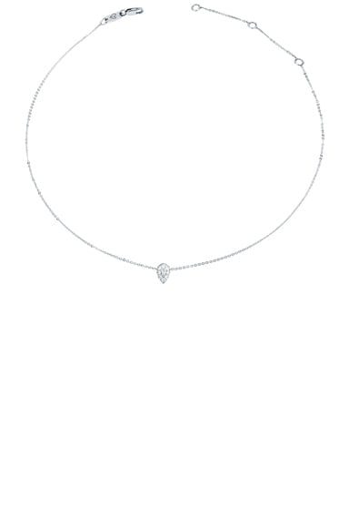 Diamond Drop Chain Choker